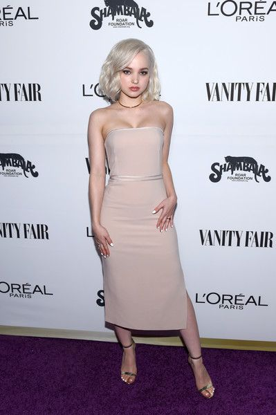 Actor Dove Cameron attends the Vanity Fair and L'Oreal Paris Toast to Young Hollywood.