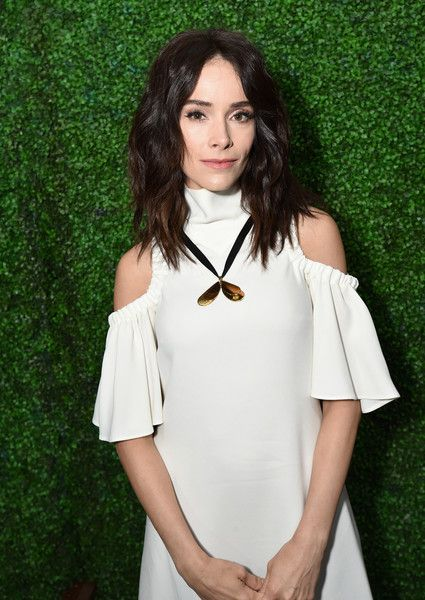 "Actor Abigail Spencer, star of the new Sony Pictures Television series ""'Timeless"",' attends the Sony Pictures Television LA Screenings Party."