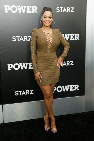 "Actress La La Anthony attends STARZ ""Power"" New York season three premiere at the SVA Theatre on June 22, 2016 in New York City."
