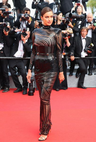 "Irina Shayk Photos Photos - Irina Shayk attends the ""The Beguiled"" screening during the 70th annual Cannes Film Festival at Palais des Festivals on May 24, 2017 in Cannes, France. - 'The Beguiled' Red Carpet Arrivals - The 70th Annual Cannes Film Festival"