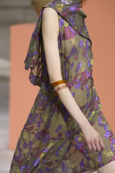 Peter Pilotto, Fall 2017 - The Most Badass Jewelry on the London Runway - Photos