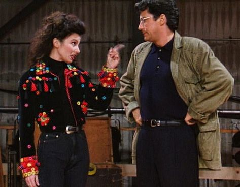 High Waist Denim Is A Staple - Style Lessons We Learned From 'The Nanny' - Photos
