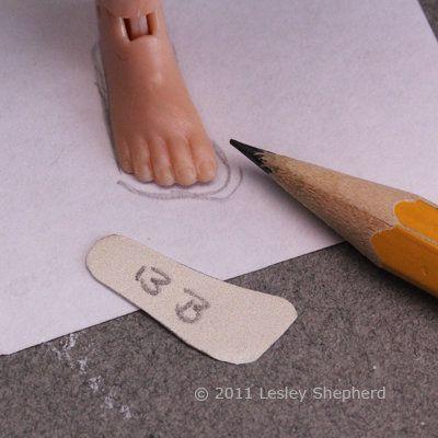 Обувь для барби из картона своими руками 45