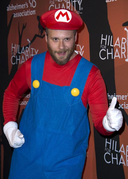 Seth Rogen attends the Hilarity for Charity's 5th annual Variety show at the Palladium in Hollywood.