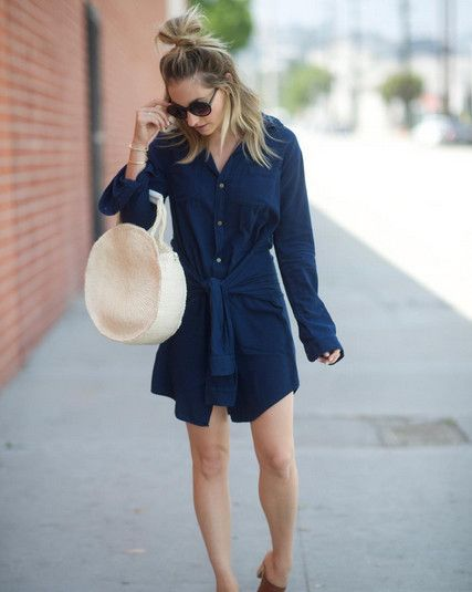 Easy Shirtdress - Outfit Inspo For What to Wear Today - Photos