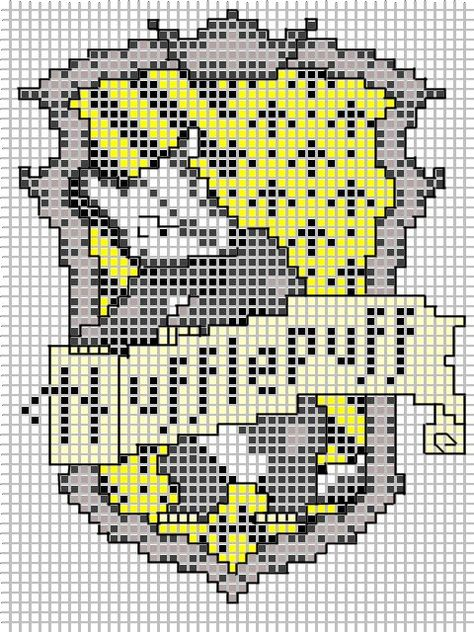 Герб хогвартс схема вышивки 772