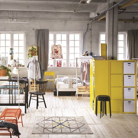 Loft Living - These Trends From Ikea's New Catalog Will Rule 2017 - Photos