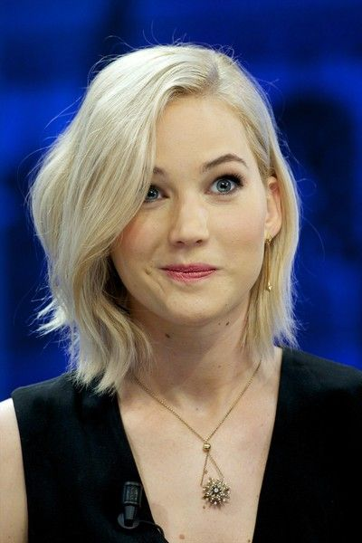 Jennifer Lawrence attends 'El Hormiguero' Tv show at Vertice Studio on November 26, 2015 in Madrid, Spain.
