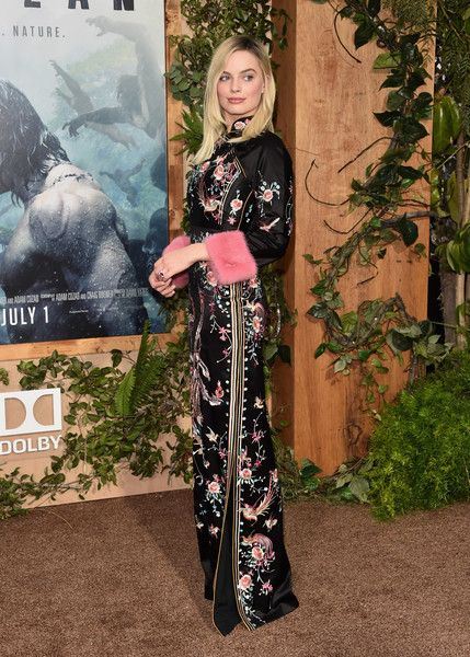 """Actress Margot Robbbie attends the premiere of Warner Bros. Pictures' """"The Legend of Tarzan"""" at Dolby Theatre on June 27, 2016 in Hollywood, California."""