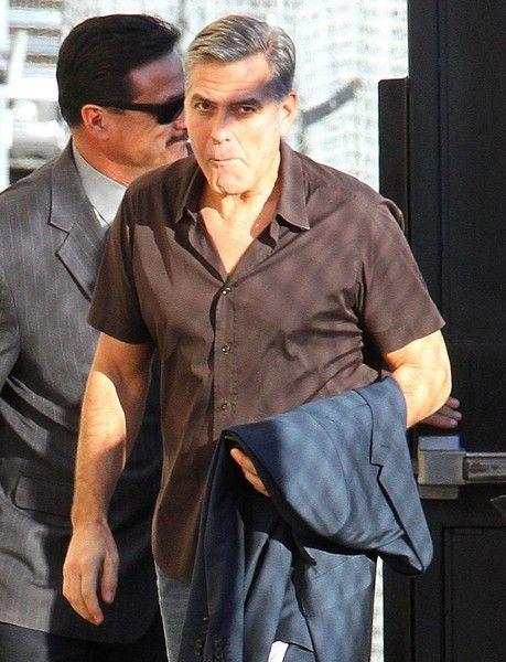 George Clooney visits 'Jimmy Kimmel Live!'