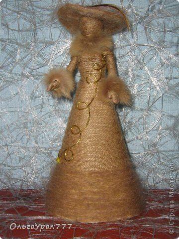 Поделки из джута куклы мастер класс 41