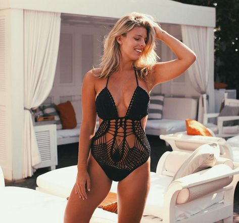 Crochet Cutie - These Strappy Bathing Suits Will Be Your New Summer Staple - Photos