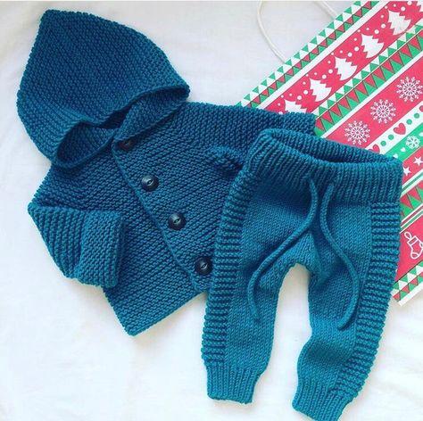 Детский костюм для мальчиков вязание спицами 686
