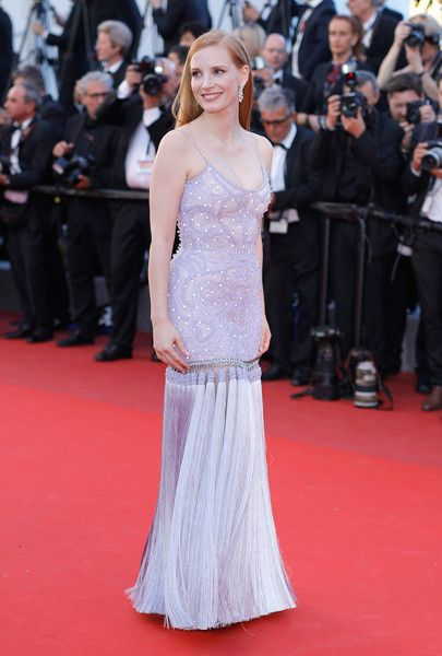 Jessica Chastain - The Most Daring Gowns From the 2017 Cannes Film Festival - Photos