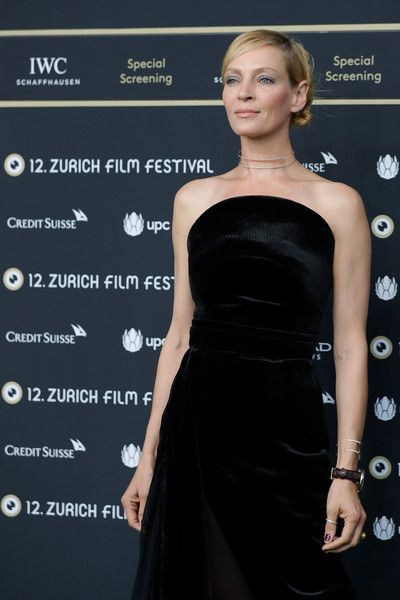 Uma Thurman attends the 'Kill Bill Vol. 1' Photocall during the 12th Zurich Film Festival on September 24, 2016 in Zurich, Switzerland. The Zurich Film Festival 2016 will take place from September 22 until October 2.