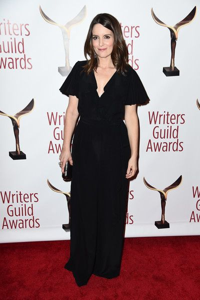 Tina Fey attends 69th Writers Guild Awards New York Ceremony.