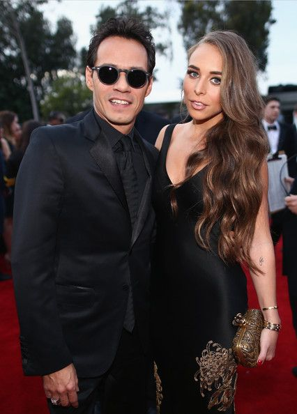 Marc Anthony & Chloe Green, 2014 - The Cutest Couples At The Grammy Awards Over The Past Decade  - Photos