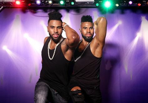 Musician Jason Derulo poses with his wax figure during Madame Tussauds Hollywood unveiling of Singer/Songwriter and Dancer, Jason DeRulo immortalized in wax at Madame Tussauds on May 19, 2016 in Hollywood, California.
