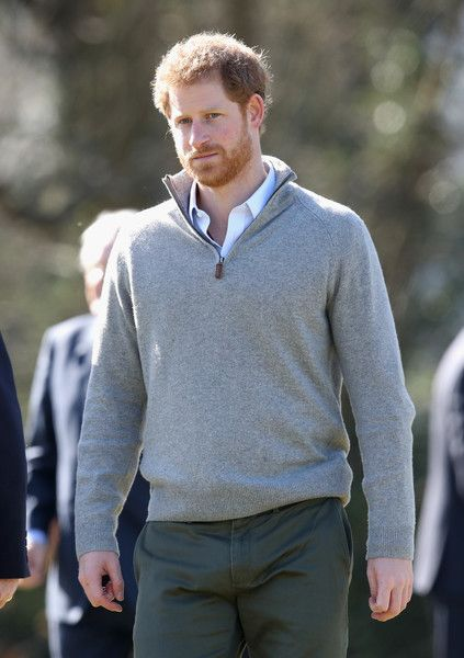 Prince Harry during a visit to Epping Forest to view the Wood Pasture Restoration Project, which is part of the Queen's Commonwealth Canopy (QCC) initiative on March 15, 2017 in Epping, England. The QCC is a conservation initiative which aims to create a global network of indigenous forests to benefit communities and wildlife, now, and into the future.