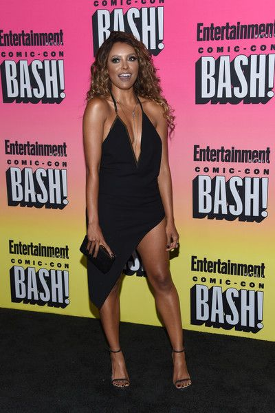 Kat Graham attends the Entertainment Weekly Comic-Con Celebration.