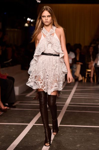 Givenchy, Spring 2015 - Cara Delevingne on the Catwalk - Photos