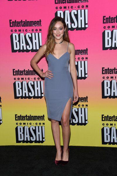 Alycia Debnam-Carey attends the Entertainment Weekly Comic-Con Celebration.