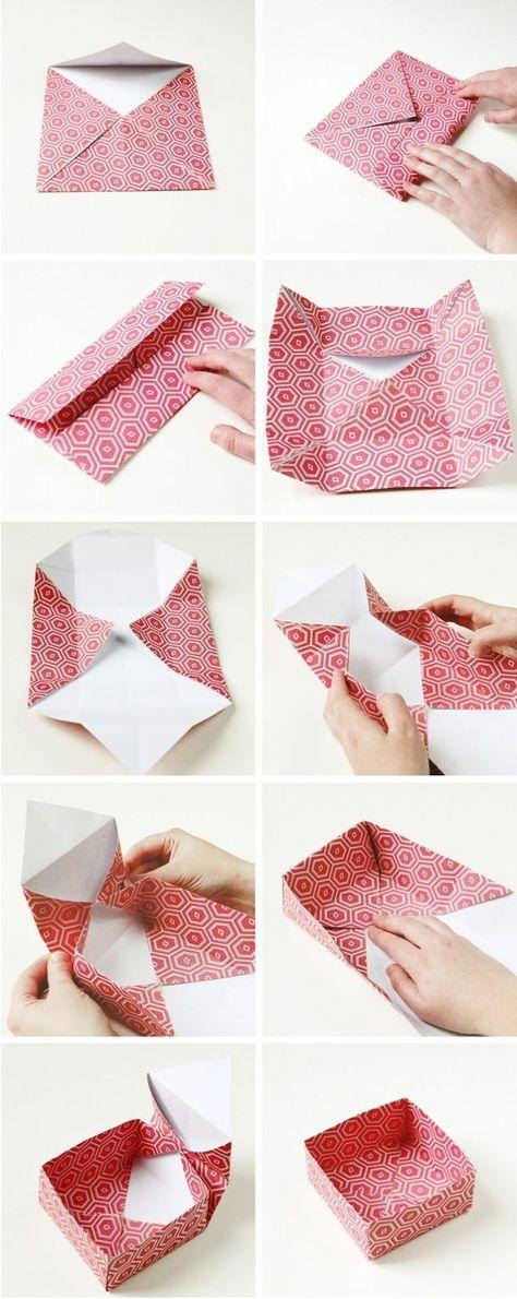 Как своими руками сделать упаковку 606