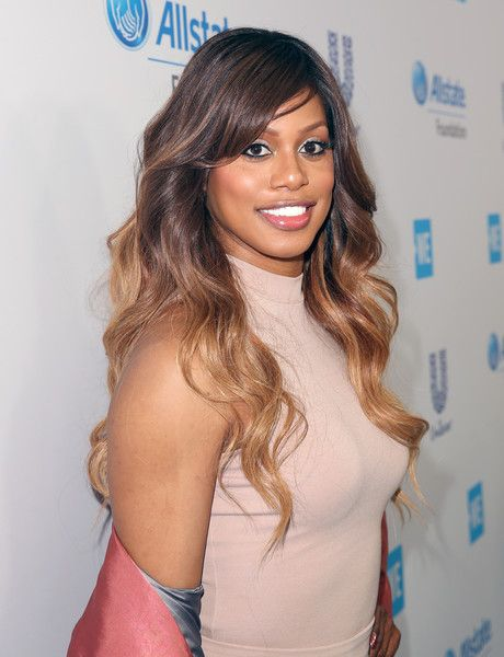 Actor Laverne Cox attends WE Day California to celebrate young people changing the world at The Forum.