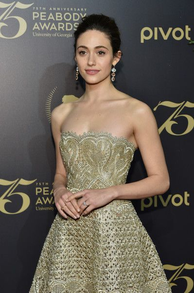 Emmy Rossum attends The 75th Annual Peabody Awards Ceremony at Cipriani Wall Street on May 20, 2016 in New York City.