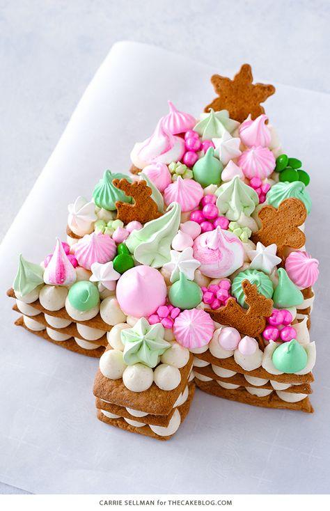 Cream Tart Tree Cake