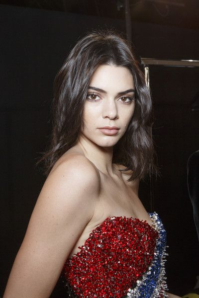 Kendall Jenner Backstage at Alexandre Vauthier Couture Spring 2017 - Beautiful Backstage Couture Photos From Paris - Photos