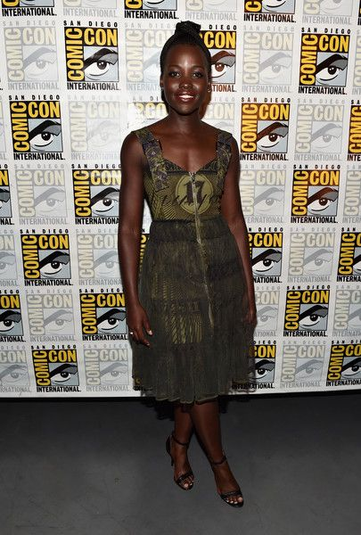 """Lupita Nyong'o from Marvel Studios'' 'Black Panther""""' attends the San Diego Comic-Con."""
