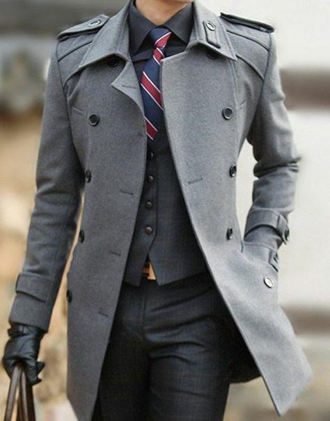 64 Idées pour porter le manteau pour homme avec du style!