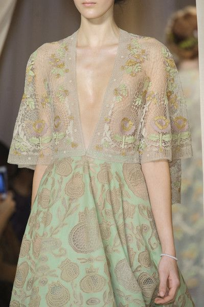 Valentino Spring 2015 Couture Details - Valentino's Most Stunning Couture Runway Details of the Decade - Photos