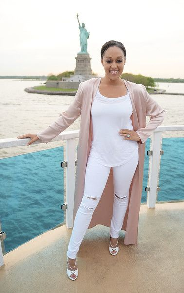 Brand Ambassador Tia Mowry attends the Picnic Time Off event to celebrate the global launch of LEMON LEMON in NYC.