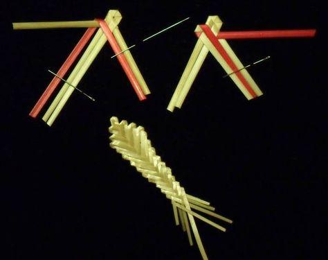 Плетение соломкой гуржий