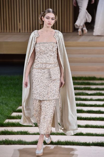 Chanel Haute Couture Spring 2016 - Gigi Hadid's Most Stunning Runway Looks - Photos