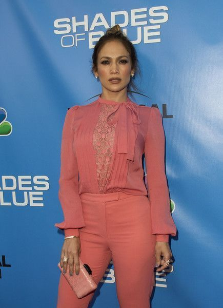 Actress/Singer Jennifer Lopez attends the Shades of Blue Television Academy Event, in North Hollywood, California, on June 9, 2016. / AFP / VALERIE MACON