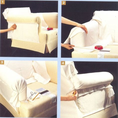 Выкройка чехол на диван своими руками фото 792