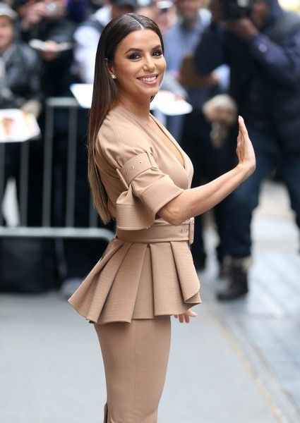 Eva Longoria makes an appearance on 'The View' in New York City.