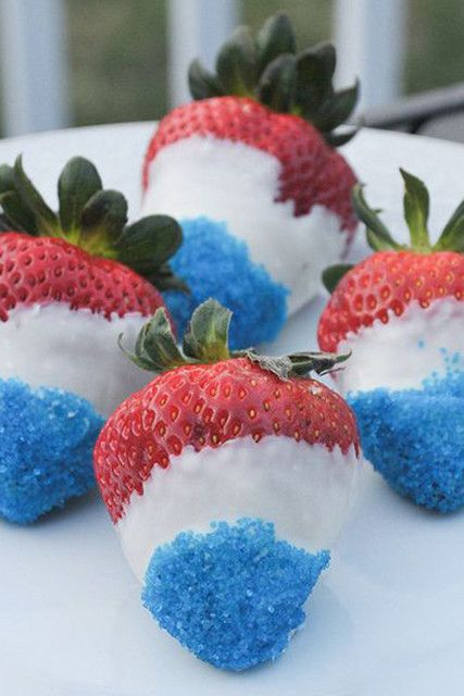 Boozy Berries - 10 Pinterest Hacks To Win At Your Fourth Of July Party - Lonny
