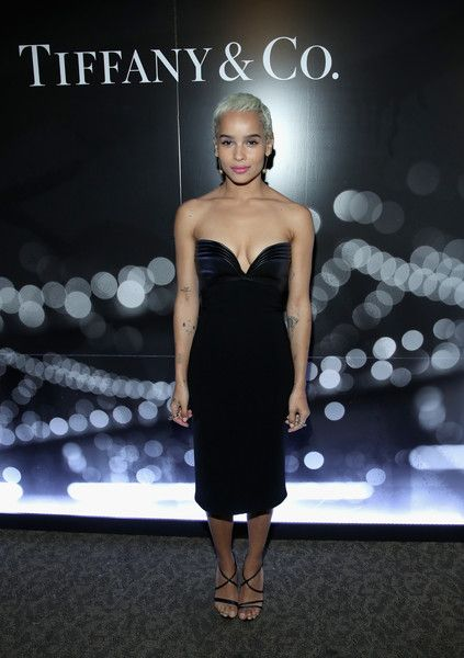 Actor Zoe Kravitz attends the Tiffany HardWear Los Angeles Preview with The Art of Elysium.