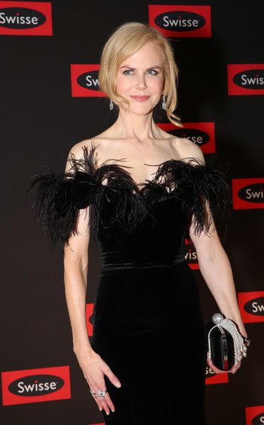 Actor Nicole Kidman arrives ahead of the Swisse Wellness Power Your Passion Event in Melbourne, Australia.