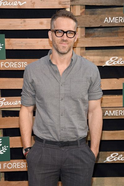 Ryan Reynolds celebrates the One Tree Campaign with Eddie Bauer and American Forests in NYC.
