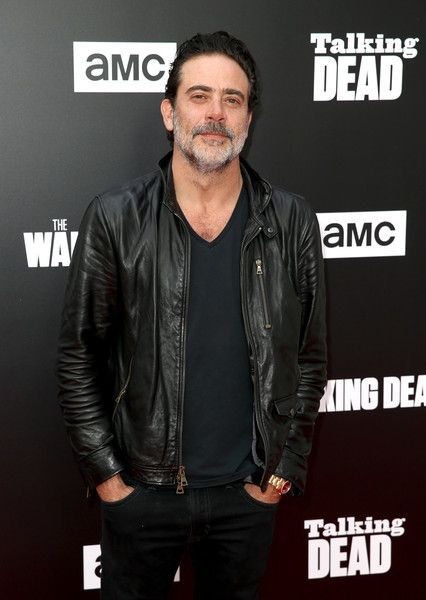 Actor Jeffrey Dean Morgan attends as AMC presents 'Talking Dead Live' for the premiere of 'The Walking Dead.'