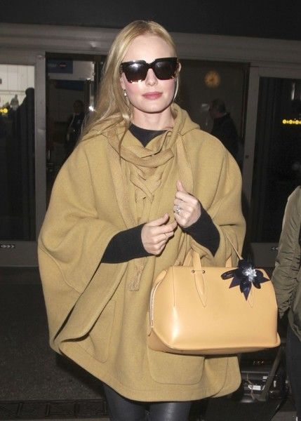 Kate Bosworth arrives at LAX.