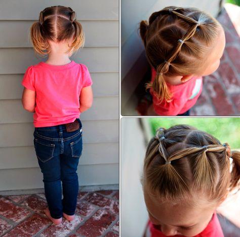 Причёски  на короткие волосы фото пошагово ребенку