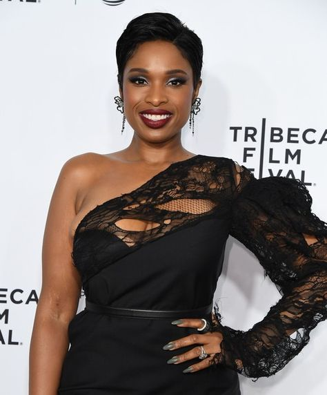 Actress Jennifer Hudson attends the Opening Night of the 2017 Tribeca Film Festival and the world premiere of 'Clive Davis: The Soundtrack of Our Lives' in NYC.