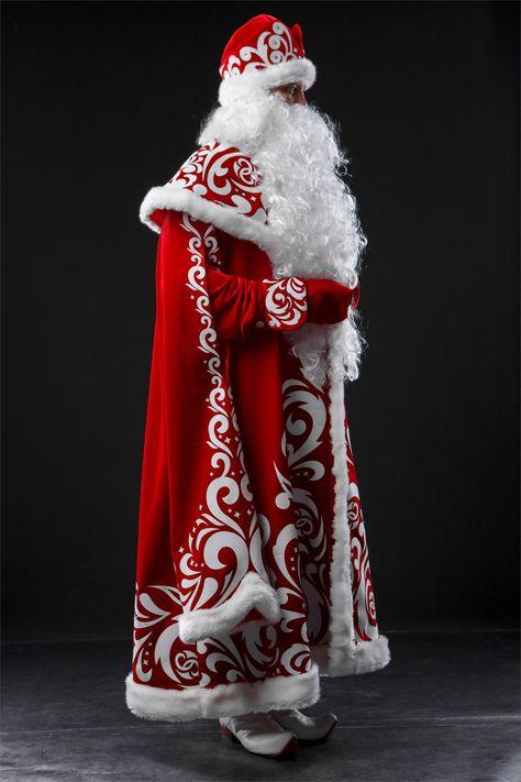 Как можно сделать костюм деда мороза своими руками 70