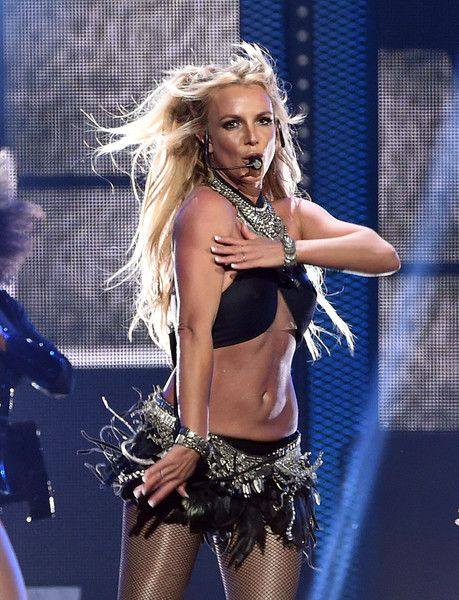 Recording artist Britney Spears performs onstage at the 2016 iHeartRadio Music Festival at T-Mobile Arena on September 24, 2016 in Las Vegas, Nevada.